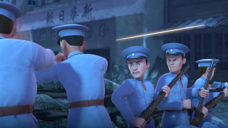 手榴弹马上要炸了,小同志直接用自己的身体,扑在了手榴弹上