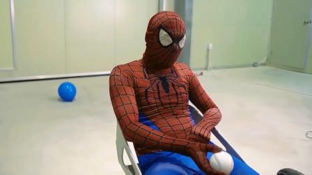 蜘蛛侠爆破气球的方式太独特了!