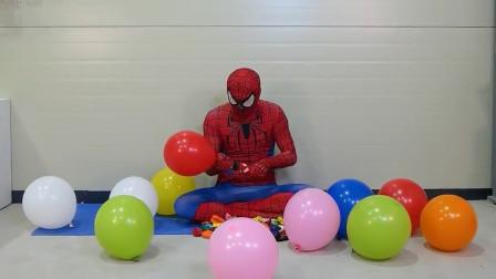 蜘蛛侠的气球别样玩法,你想到了吗?