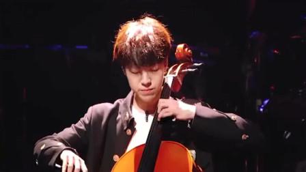 """《明日之子》明日之子乐团季,任胤蓬 大提琴版""""野蜂飞舞"""",蓬蓬子手速可以呀!"""