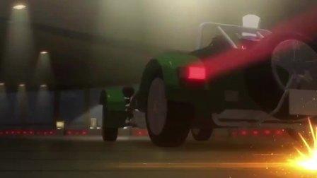 基德从敌人眼皮下逃脱,竟开着车冲出东京铁塔,太秀了!
