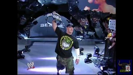 """""""冠军在此!""""WWE冠军约翰塞纳霸气回归,我才是擂台霸主!"""