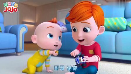超级宝贝:小兔子耳朵坏了,妈妈把玩具缝好了,针线活真厉害