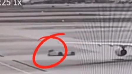 上海虹桥机场机务人员遭碾轧,牵引车径直横撞,监控曝光揪心一刻