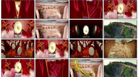 038-中国范儿-LED高清大屏幕演艺舞台背景视频