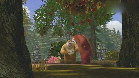 熊出没:森林里来了只新猴子壮壮,比吉吉帅多了,这国王该给他当