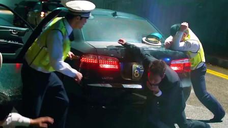 韩国赵又廷酒驾撞人后藏于车箱,没想到半路遭拦截!