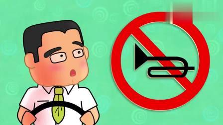 可可小爱:汽车很多,大家如果不遵守交通规则,道路就乱了