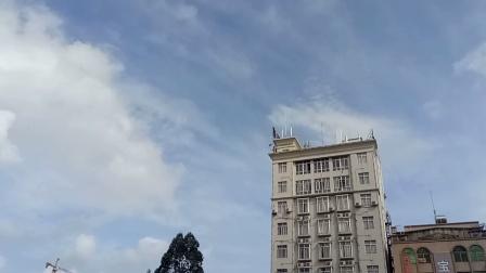 杨柑文化楼旁,潘亚养,地天主,拍,,的天空