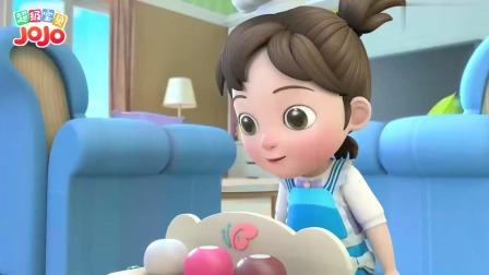 超级宝贝:姐姐打扮好可爱,变成一个小老板,在家里卖起冰淇淋