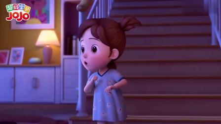 超级宝贝:弟弟在夜里偷吃棉花团,竟然还说慌了,真是不乖呀