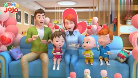 超级宝贝:母情节到了,孩子们表现真好,妈妈很感动呀