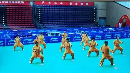 滨城区队参加2020.9.20滨州市健身气功八段锦比赛获得县区组第一名