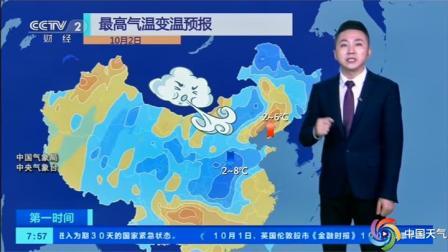 北方降温范围广,昼夜温差拉大,假期10月2-3号天气预报台
