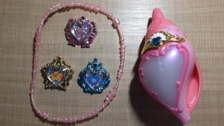 巴啦啦小魔仙之魔法海萤堡2(第二季)玩具海螺爱心变身器(高端版)