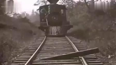 第一根是勇气,第二根是智慧,火车前面那东西原来是这样用的