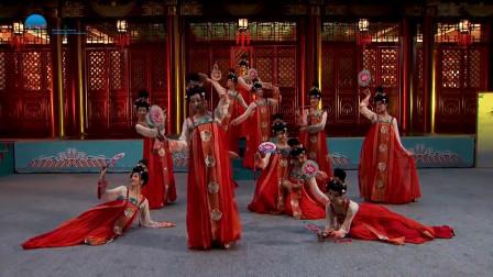 东方歌舞团古典舞《簪花仕女图》,再现雍容华贵的盛唐画卷!