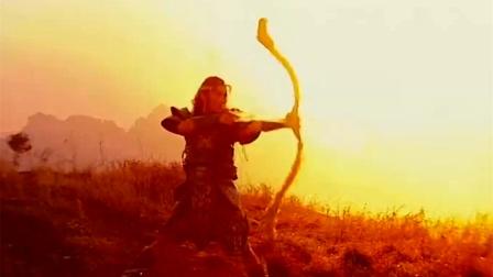 后羿射日箭无虚发,这操作简直帅呆了!神话故事传颂数千年!