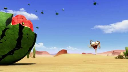 小蜥蜴奥斯卡:这几个小动物,真的挺高能,也太搞笑了