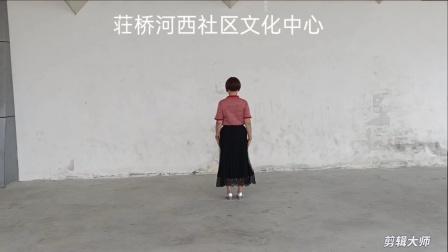2020年10月3日,荘桥河西社区文化中心《舞蹈》心上的罗加,静静表演,甬闻录制。