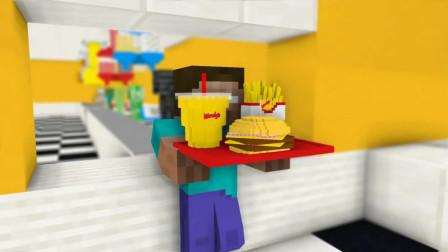 我的世界动画-怪物学院-烹饪挑战-Kefe Games