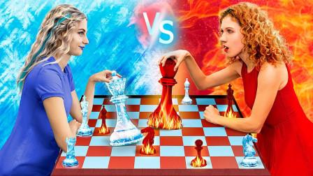 选美大挑战:冰美人VS火美人,两人究竟谁最美?看完心动了!