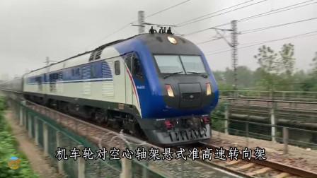 一代经典!第五次铁路大提速主力,东风DF11G型准高速内燃机车