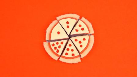DIY手作,芭比娃娃的迷你披萨