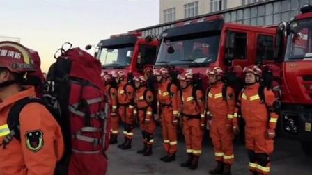 日土县境内发生4.9级地震 阿里消防迅速做好应急救援准备