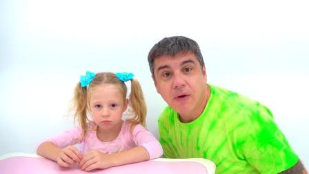 瞧,爸爸给小萌娃准备的礼物