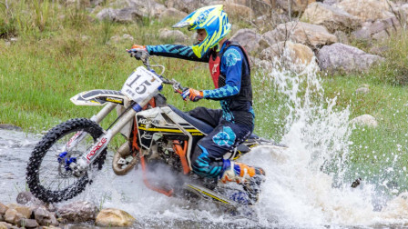 2020中国平顶山(二郎山)杯摩托车林道挑战赛盛大开幕