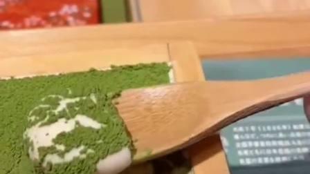 日本的抹茶提拉米苏