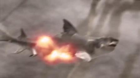 当穿越团队遇到巨齿鲨,骑着翼龙看陨石简直太酷