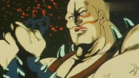 北斗神拳:拳四郎北斗忏悔拳,就是这么的厉害,帅呆了