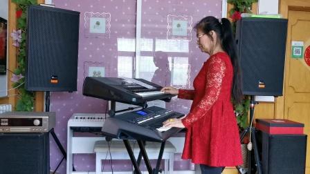 《活出个样来给自己看》视频双电琴演奏