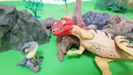 睡梦中的恐龙,吃草莓,汉堡,披萨,葡萄,霸王龙玩具故事