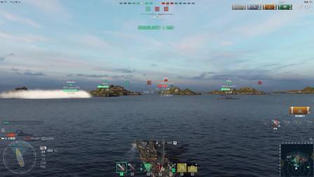 战舰世界:感受一下德系十级巡洋舰兴登堡的火炮洗礼