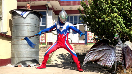 闯关族M78:超古代翼龙扰乱地球!捷德手持神秘兵器登场!赛文奥特曼日常