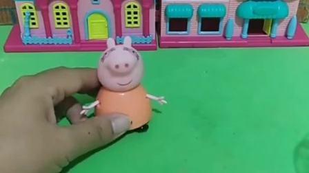 乔治想吃芒果雪糕,猪妈妈做了肥皂雪糕,乔治果然上当了!