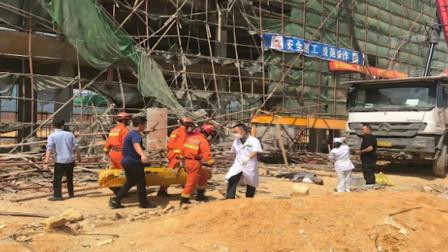 广东汕尾一在建工地发生坍塌,已致72伤