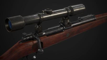 精美的武器模型 你知道它的型号吗