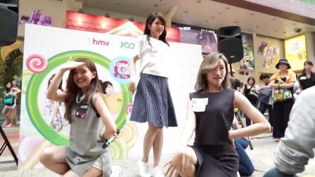 糖果球@美女街头舞蹈表演