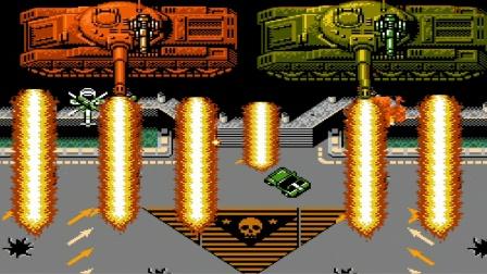 【小握解说】《FC赤色要塞:休闲版》最终大坦克增加新武器了