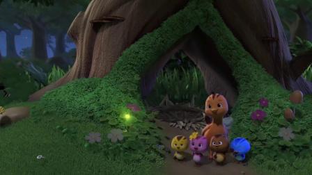 萌鸡小学堂:萤火虫抢大宇书包,书包不值钱,快还给大宇吧