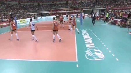 朱婷领衔挽救6个赛点逆转荷兰一《相信自己》送给顽强中国女排