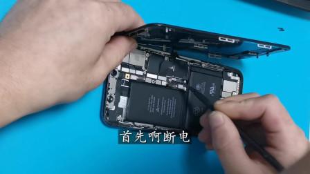 iPhoneX换屏幕:指南舟手机维修培训学校