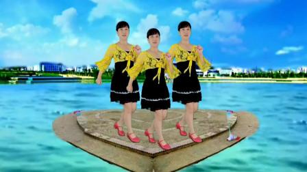 甜蜜情歌64步广场舞【来生再去拥抱你】