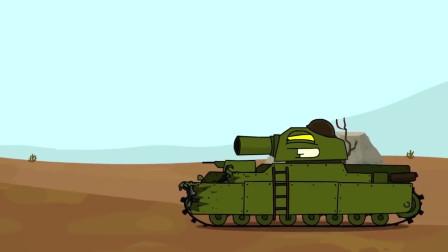 坦克动画世界:吃货的自我修养,炮弹可以打偏,泡面决对不能泡软
