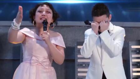 小明撞脸辣目洋子,真是亲生的母子俩啊