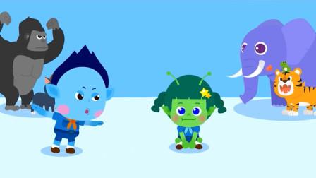 儿童歌曲_跟着动物跳舞啦_韩语儿歌解说